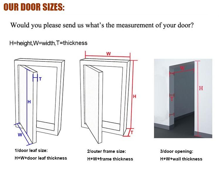 interior pvc flush door casement door pvc bathroom door