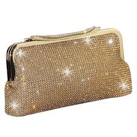 cheap wholesale high quality fashion ladies evening party clutches with rhinestone