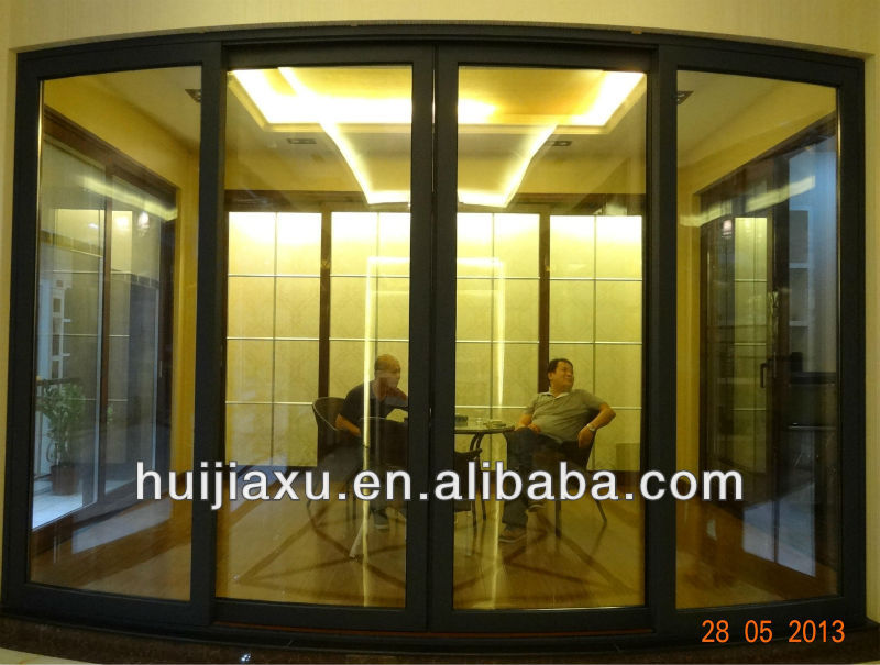Horizontal Curved Sliding Doorbig Sliding Doors Entrance Slide Door