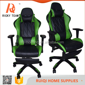 Racing Computer Chair/gaming Chair With Wheels /leather Computer Office  Chair RQ 8019B