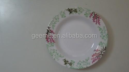 plastic melamine plate custom print melamine plates cheap bulk dinner plates & Buy Cheap China plastic melamine plate Products Find China plastic ...