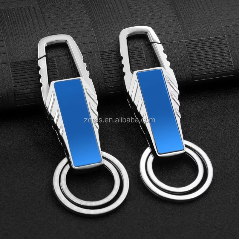 2019 New Arrival Stainless Steel Keychain License Plate