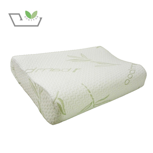 Therapeutic Wave Contour Pillow Visco Latex Cool Gel Memory Foam Bolster Bamboo Pillow