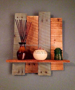 Wooden display frame modern decoration rustic country shelf 2019