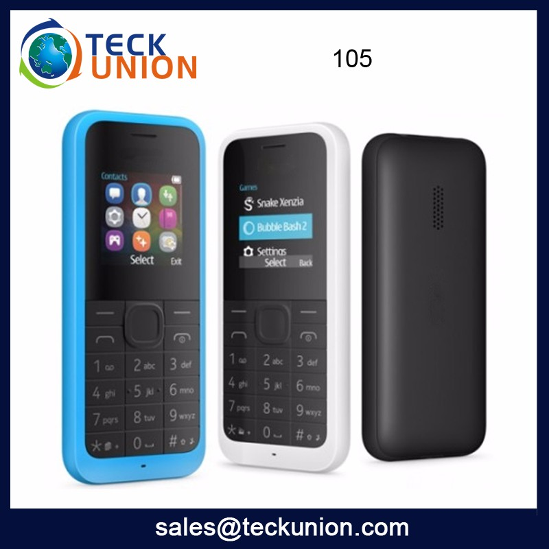 105 Wholesale Very Small Mobile Phone 1.44Inch Dual Sim GSM Mini Phone Cellular