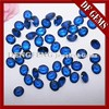 Oval Cut Synthetic 113# Blue Spinal Stone