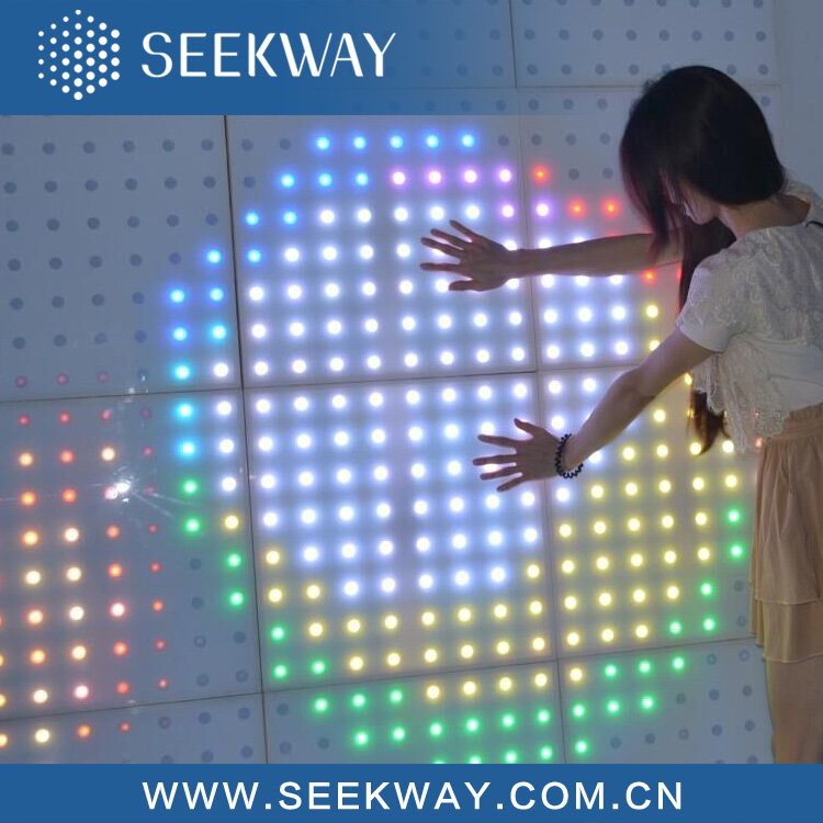 Wholesale Price Dynamic Interactive Led Floor Size 50*50 Led Dance ...