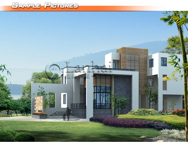 Steel Structure Elevation Design House