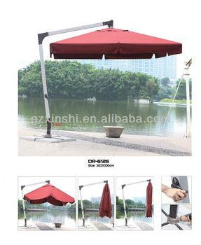 Unique 7 Shape Garden Parasol Umbrella/large Hanging Patio Umbrella