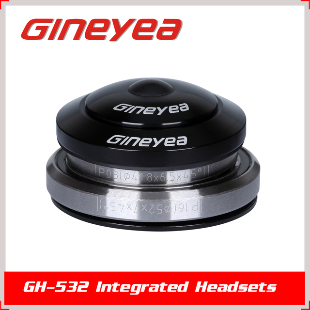 GINEYEA GH-532 Integrated threadless tapered bicycle headset for mountain bicycle/MTB bike