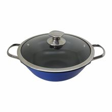 round bottom gas wok range wok induction cooker