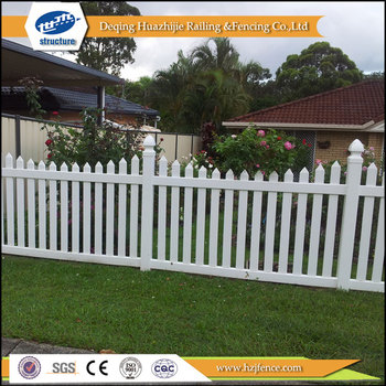 Pvc Fences For Flower Beds Plastic Vinyl Picket Fencing Garden Product On Alibaba