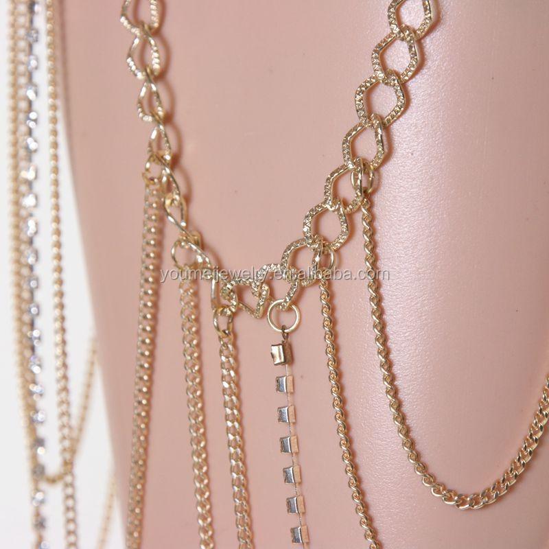silver leg chain design leg chain thigh jewelry