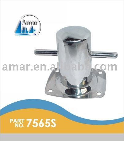 SS 316 Small Mooring Bitt-Bolt Through / Marine hardware