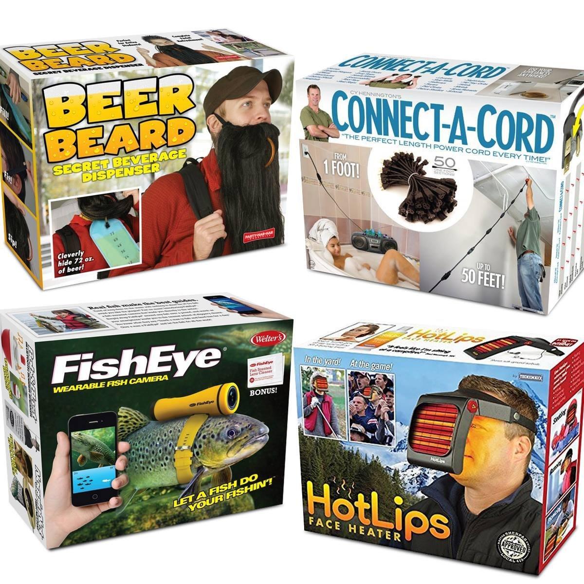 Prank Pack Men u2013 4 Funny Gag Gift Boxes u2013 Beer Beard - Fish Eye -  sc 1 st  Alibaba & Buy Prank Pack Men u2013 4 Funny Gag Gift Boxes u2013 Beer Beard - Fish Eye ...
