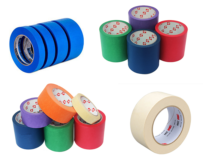 Factory Price General 3M 244 Adhesive Masking Tape