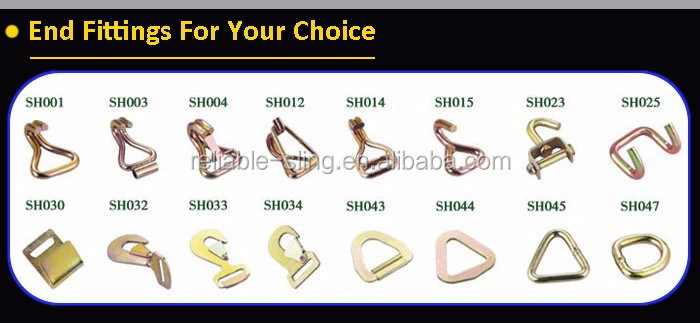 "1"" Motorcycle Small Cam Buckle Tie Down Straps"
