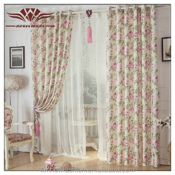 Wave Drapery Pleated DraperyCasual Curtains