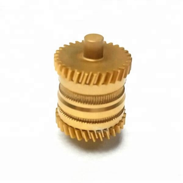 Customize CNC Machining Brass Small Rope Pulley