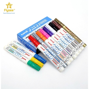 Customized manufacturers supply safety industrial use paint colorful art pen chisel tip permanent copic marker