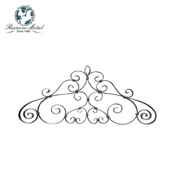 Wholesale cast wrought iron element handrail spear top fence