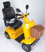 4 wheels battery Motorcycle mobility scooter for Elder and handicapped in Canada
