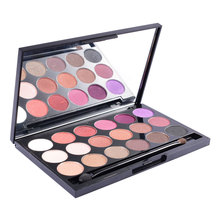 LCHEAR Waterproof Make-Up 18 Kleuren Shimmer Private Label Eyeshadow Palette