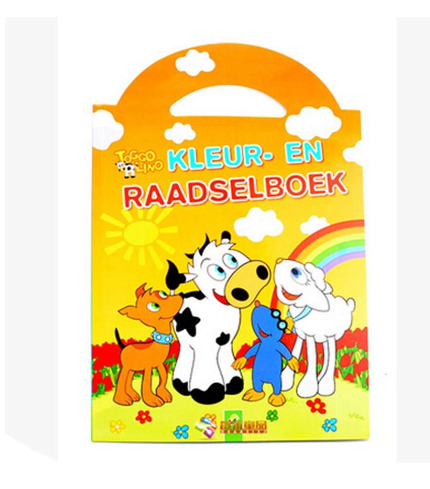 Creative Doodle Coloring Book Print Books Coloring Pages- Dairy