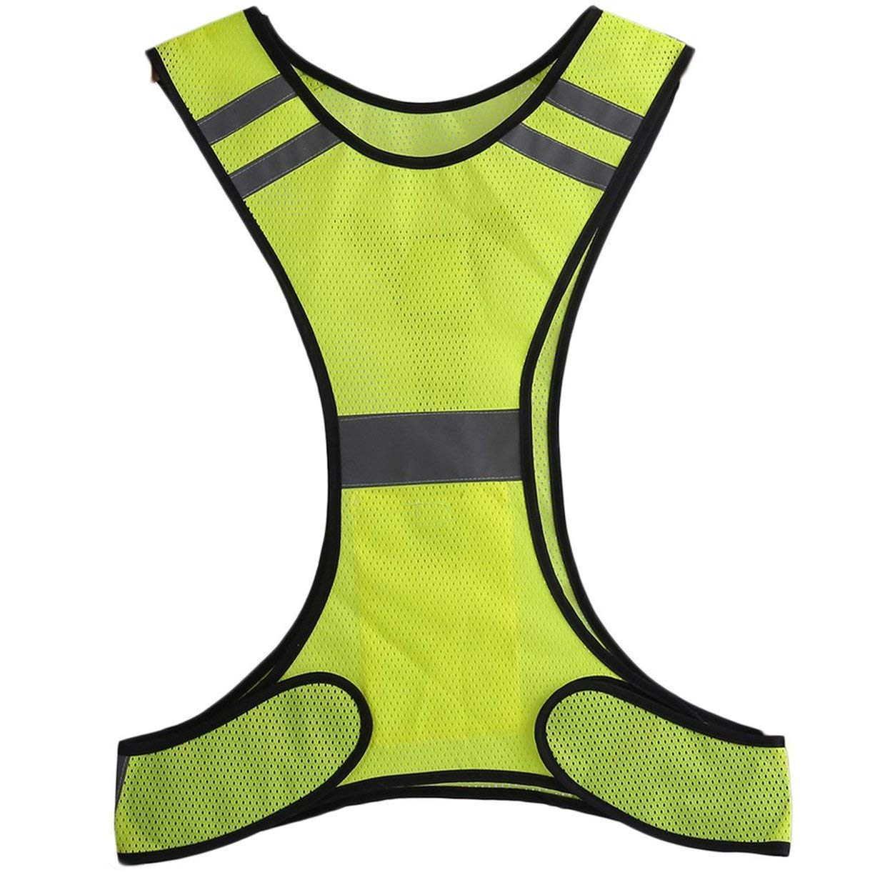Quality In 2019 Latest Design Reflective Safety Vest Cycling Bike Bicycle Vest Sleeveless Night Running Security Riding Outdoor Protection Excellent