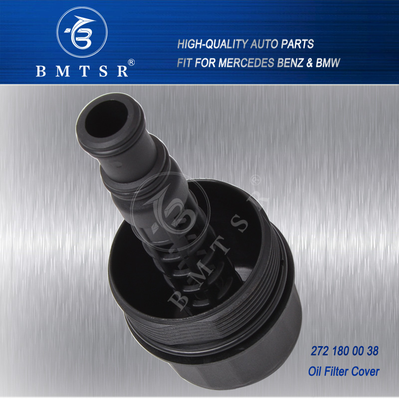 BMTSR famous brand high quality M271 engine oil filter cover for w204 w203  w211 w212, View M271 oil filter cover, BMTSR Product Details from Guangzhou
