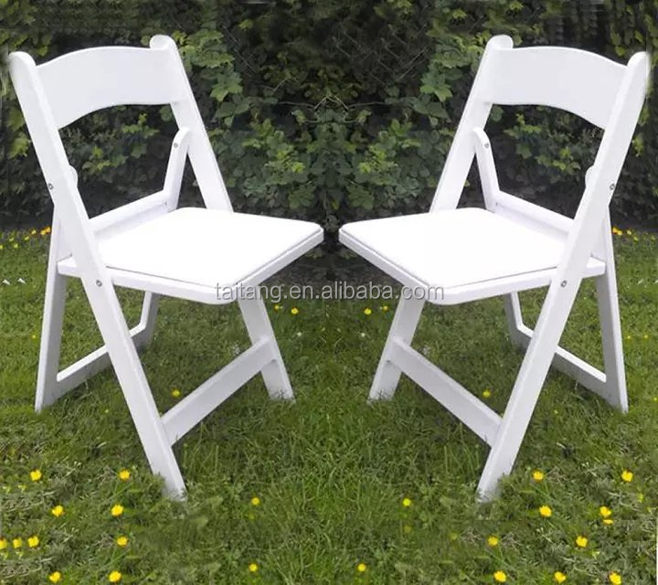 Wholesale White Resin Folding Chair plastic Chair With Padded Seat Buy Whol