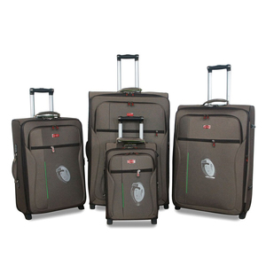 "Hot selling 20/24/28/32"" 4pcs 2 wheels travel used luggage for sale"