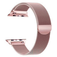 Stainless Steel For Apple Watch Band 42mm 38mm 44mm 40mm, Watch Bands Milanese Loop for iWatch Series 4 3 2 1