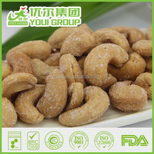 Healthy Crispy Salted Roasted Cashew Nut Kernel, Flour Coated Cashew Nuts