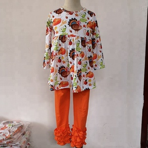 wholesale Hot sale kids Thanksgiving Day wear bangladesh set canadian used clothes