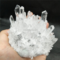 Wholesale white rock crystal quartz clusters rock crystal specimen cluster