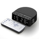 Easiny MX-01R LED digital alarm clock radio mini FM AUX USB car MP3 player portable amplifier BT wireless dj smart tws speaker