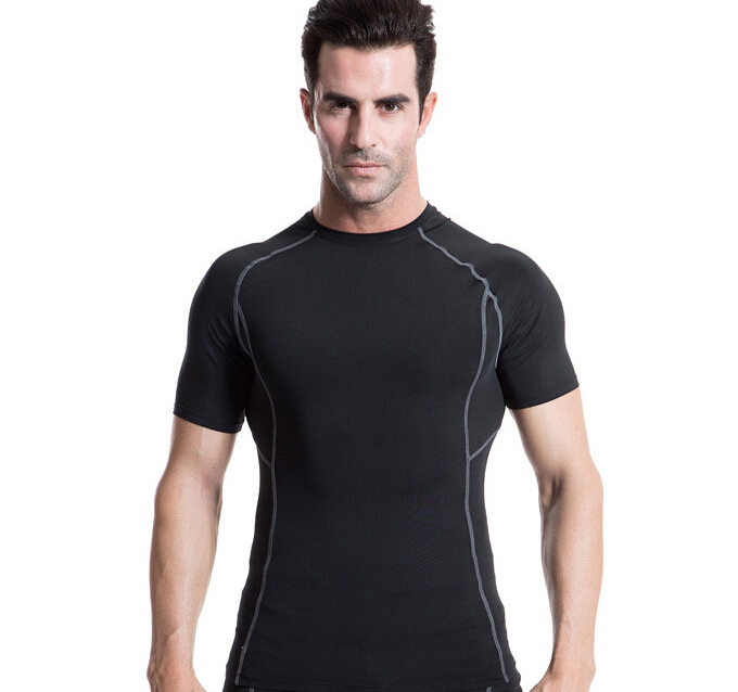 5db7f0f9 Buy New arrive Men's Youths Sports Body Armour Compression Under Base  Layer T-Shirts Athletic Tops Skin for Running Cycling Training in Cheap  Price on ...