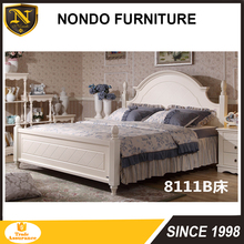 wooden divan bed design king size bed frame french country adult couple bedroom set furniture modern E8111B