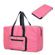 Red Folding Foldable Sports Travel Bag