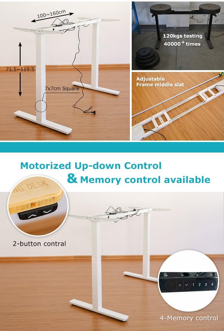 Up Lift Schreibtisch Rahmen Für Höhenverstellbaren Tisch - Buy ...