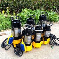 V series 0.75kw 110v ac vertical submersible water pump sewage vertical pump