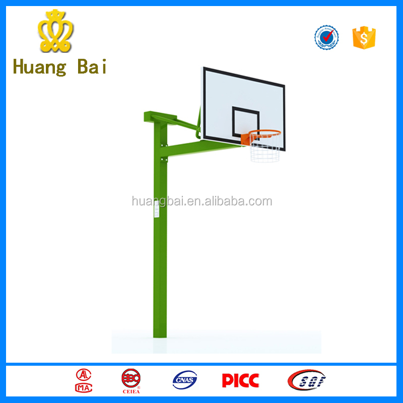 Hot sale height adjustable outdoor basketball stands for kids