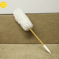 2018 New Arrival Eco-friendly Bamboo Microfiber Duster with long handle