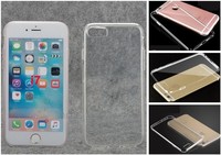 Premium Protective Cover 2016 Crystal Clear Transparent TPU Silicon Case For Iphone7/7plus
