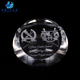"Wholesale 80mm (3"") Dome Shape Custom Made Cheap Glass Paperweights"