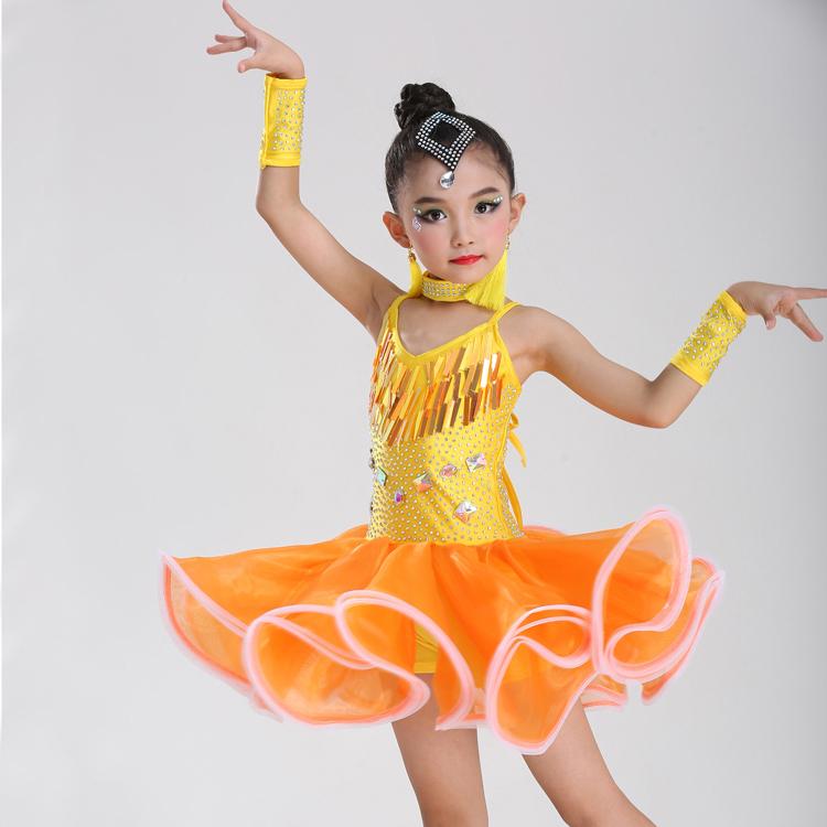 7c4f1ec8047 Venta al por mayor vestuario para concursos de baile de niños-Compre ...