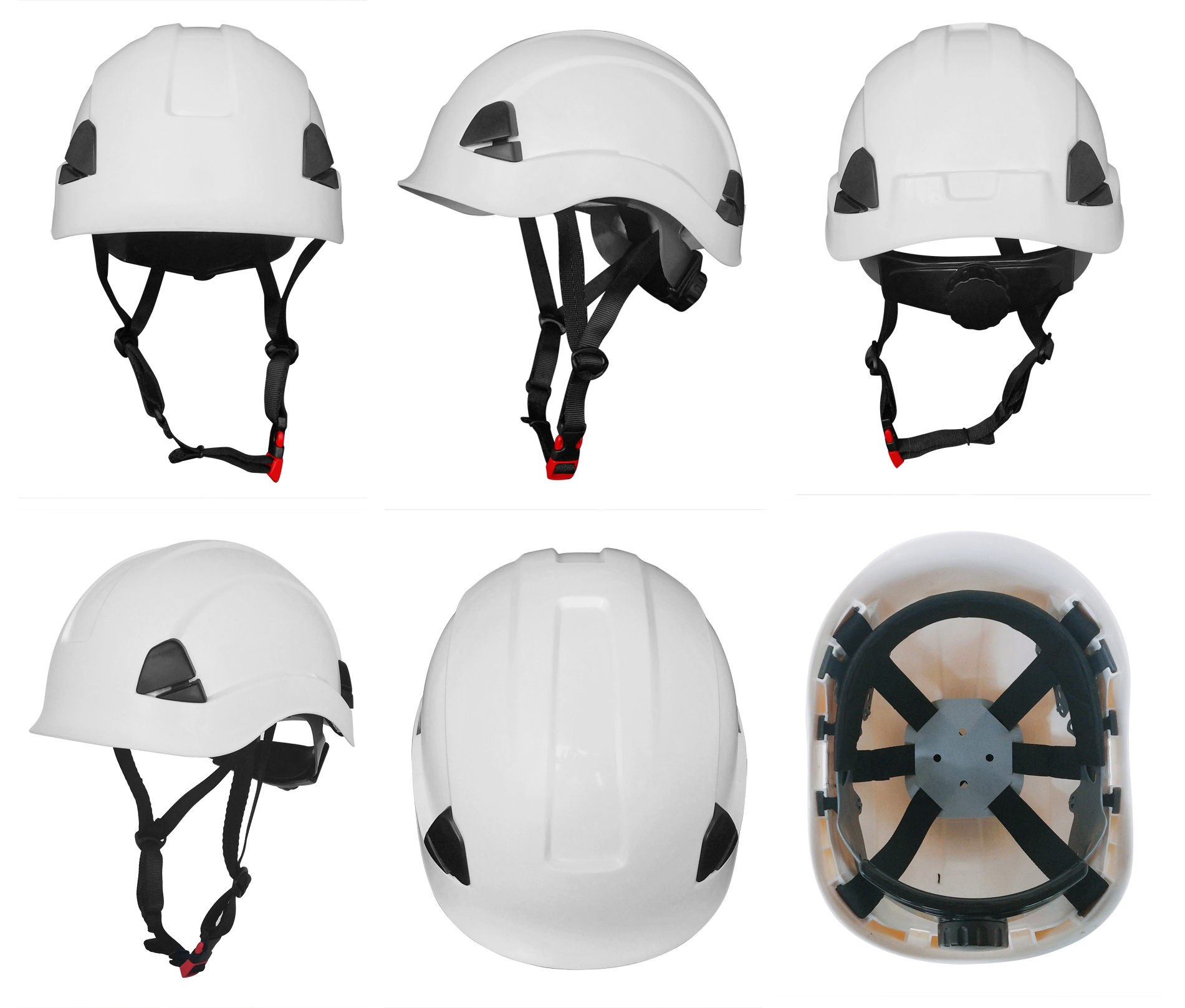 Direct factory price White Arborist Safety Helmet