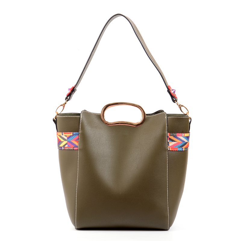 231f8cf94a New Fashion Women Top Handle Leather Handbags Shoulder Bag PU Leather Bag  Tote Bag 2 Pcs Purse Set
