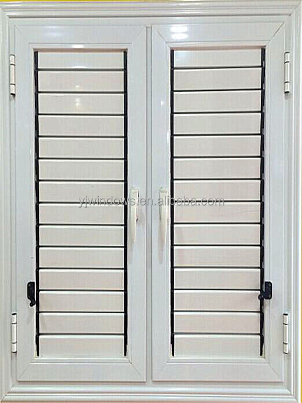 Exterior: Aluminum Shutter Doors And Windows Louver Window